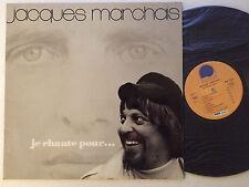 Jacques MARCHAIS chante Gilles Vigneault LP L'ESCARGOT (1973) chanson folk MINT