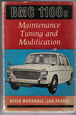 BMC 1100s Maintenance Tuning and Modification by Marshall & Fraser 1966 Foulis