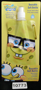 Shark Skinzz Spongebob Reusable Folding 20oz bottle 010773