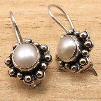 AAA FRESH WATER PEARL Girl, Fashion Jewelry Small Earrings ! 925 Silver Plated