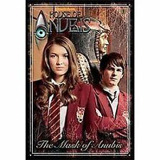 The Mask of Anubis (House of Anubis) (Junior Novel)-ExLibrary