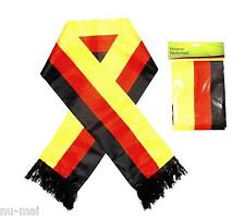 Fanschal Deutschland Fan Schal Dünn Flagge Fahne Schwarz Rot Gelb Fußball WM
