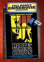 DVD Riot in a Women's Prison Grindhouse Vintage Horror Exploitation 70s 80s NEW