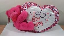"Sugar Loaf Toys Valentines Bear Holding Heart ""I Love You"" 18"" Plush 2014 NWT!"