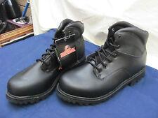 Brahma Mens Black Work Boots Size 12w