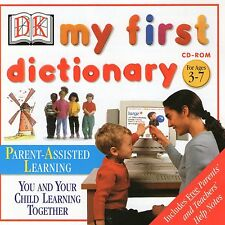 MY FIRST DICTIONARY | age 3 - 7 | Win 95 98 XP ( 7 8 10 see listing )