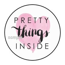 30 PRETTY THINGS INSIDE ENVELOPE SEALS LABELS STICKERS 1.5