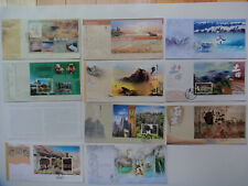 China Hong Kong Mainland scenery no 1 to 10 FDC and all ten scenes on one FDC