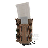 Soft Shell Scorpion MOLLE Mag Carrier Rifle 5.56 7.62 Pistol Magazine Pouch Case