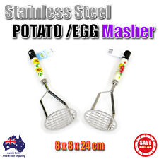 Stainless Steel Potato Egg Masher Ricer Puree Fruit Vegetable Juicer Press Maker