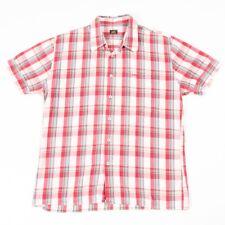 VGC Vintage LEE Red Check Shirt | Mens M | Cowboy Western Retro Plaid