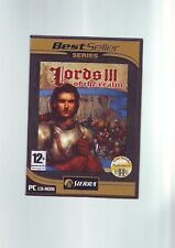 LORDS OF THE REALM III 3 THE - PC GAME - 2 DISCS - FAST POST - COMPLETE - VGC
