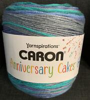 Caron Anniversary Cakes Yarn Blueberry Bash, 1061 Yards, Super Bulky Yarn
