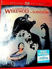 An American Werewolf in London New Blu-ray w/slipcover David Naughton J. Agutter