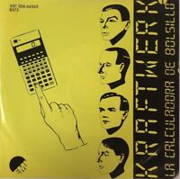"KRAFTWERK -POCKET CALCULATOR / DENTAKU- 1981 MEXICAN 7"" SINGLE PS TRANSULCENT"