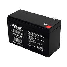 Batterie Gel Rechargeable 12V 7.5Ah sans entretien, sans fuite, AGM