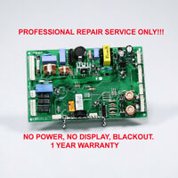 LG Fridge Control board repair service - EBR41531305, EBR41531301, EBR41531303