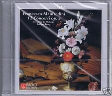 MANFREDINI CD NEW 12 CONCERTI / LES AMIS DE PHILIPPE/ LUDGER REMY