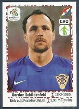 PANINI EURO 2012- #379-HRVATSKA-CROATIA-EINTRACHT FRANKFURT-GORDON SCHILDENFELD