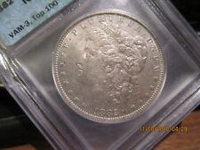 1882-O/S ICG Morgan Dollar  AU-55  Vam 3  Top 100 +++++