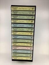 Grateful Dead Cassette Lot 14 Tapes Live California New Orleans Buffalo 1988 (14