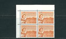 MAURITIUS 1963 QEII PORT LOUIS (SG 316 2.50R 2nd watermark) VF MNH corner blk/4