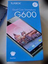 "Turbo-X G600 Phablet Quad Core IPS 6"" NFC Dual SIM Android Smartphone"