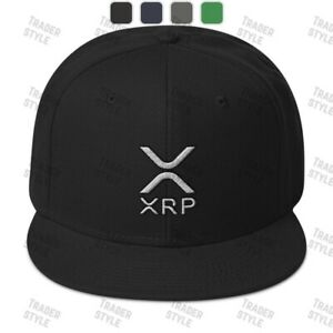 XRP Baseball Cap ripple crypto trading trader gift embroidery hat