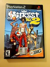 NBA Street Vol 2 (Sony PlayStation 2, PS2, 2003) Complete w/ Manual