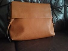 Bnwt Gold Mustard Cross Body Messenger Satchel Bag M&S Medium/large faux leather