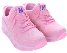 Kids Boys Girls Light up Shoes LED Flashing Trainers Casual SNEAKERS All Size Pink Trainer 11 Kids