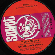 SYLVIA (Vrethammar) - Y VIVA ESPANA / LET ME LOVE YOU (Finalmente) 1973- 70s POP
