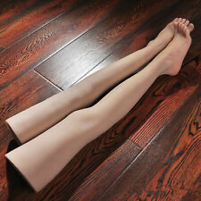 1 paire Silicone Mannequin femme Sexy longue jambe pied modèle chaussures