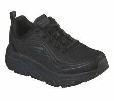 Skechers широкий крой работы черные женские туфли память пены нескользящий безопасность 108016