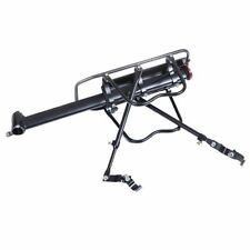 Aluminum Alloy Universal Rear Rack Bicycle Carrier Back Seat With LED Lamp Light