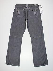NEW Mish Mash Womens Size 10 12 14 16 30L 32L 34L Boyfriend Bootcut Grey Jeans