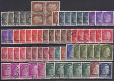 "Baltics / Belarus - 1941-43 ""OSTLAND"" Overprints on German Stamps (Used)"