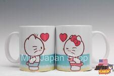 Hello Kitty & Dear Daniel  beach valentine 2018  11 oz cup mug cute US Seller