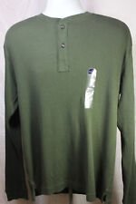 NEW St. Johns Bay  Forest Night Green Long Sleeve Shirt Size Large