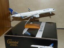 1:200 Gemini United Boeing 757 diecast model plane  w/stand  757-200