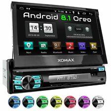 Autoradio mit Android 8.1 2gb 32gb Navi DVD Bluetooth Wifi 3g 4g Dab Obd2 1DIN