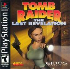 Tomb Raider Last Revelation - PS1 PS2 Complete Playstation Game