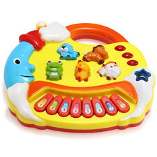 Baby Kids Musical Educational Animal Farm Piano Developmental Music Toy Gift # *