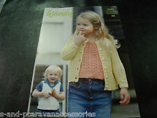 Wendy Luxury Cotton DK Yarn Knitting Pattern 5984 Cardigan and Tops 20 - 30 ins