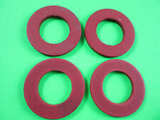 (4) #12 Fiber Fibre Washer for Hobart Meat Grinder  4812 4212 4412 8412 4612 etc