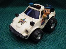 Vintage Mickey Mouse Police Car by Illco