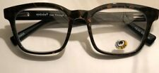 Eye Bobs See Through 2900 99 3+Mag Black With Brown Check 52-19 New