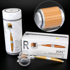 ZGTS (192 Needles) Titanium Derma Roller For Face & Body Beauty Wrinkles Scars