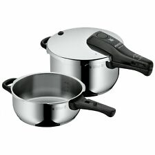 WMF Perfect Pressure cookers, set of 2-pieces-pieces 3l & 4,5l without insert Ø