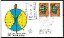 ITALIA REP. - 1975 - Centenario dell'unificazione degli archivi di Stato coppia